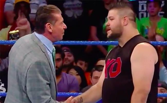 Kevin Owens & Vince McMahon - Wrestling Examiner