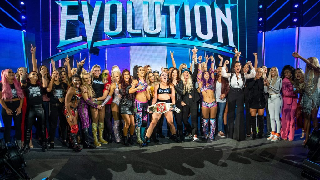 WWE Women's Evolution - Wrestling Examiner